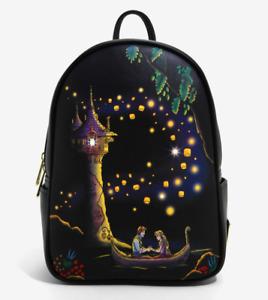 Loungefly Disney Tangled Lanterns Light-Up Mini Backpack - New