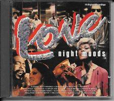 CD COMPIL 19 TITRES--LOVE NIGHT MOODS--BROOKS/WARWICK/ULTRAVOX/WHITE/SHALAMAR...