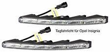 LED Tagfahrlicht Ultra Small Riffelglas 12V 10 SMD LEDs für Opel Insignia TFL9