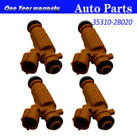 4PCS 35310-2B020 Fuel Injector Injection Nozzle For Hyundai i20 Kia 1.4 1.6 G4FG
