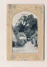Postcard Torquay novelty pull out 13