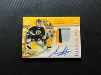 2005-06 UD SP AUTHENTIC ANDREW ALBERTS ROOKIE FUTURE WATCH AUTO PATCH #ed 36/100