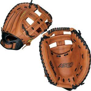 Wislon A500 Fastpitch Softball Catchers Mitt- LEFT Hand Thrower