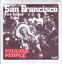 "VILLAGE PEOPLE Vinyl 45T 7"" SAN FRANCISCO - FIRE ISLAND -BARCLAY 128089 F Rèduit"
