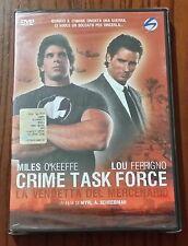 CRIME TASK FORCE - LA VENDETTA DEL MERCENARIO - DVD SIGILLATO (SEALED)