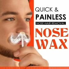 Nose Hair Removal Wax Kit Nasal Ear Hairs Painless Effective Quick Safe Beads HA