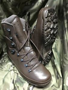 Brown Cold Wet Weather Haix Goretex Boots!Worn Once!immaculate!Size 10 Medium