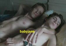 035 TIMOTHEE CHALAMET ARMIE HAMMER CALL ME BY YOUR NAME BARECHESTED IN BED PHOTO