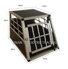 Aluminium Small Dog Pet Cage Car Travel Carrier Box Transport Crate Kennel
