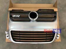 Euro Style Car Front Aluminium Matte Silver Grille fit for 06-09 MK5 VW Golf R32