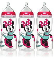 Nuk Disney Orthodontic Bottles Minnie Mouse 3 Pack 10oz