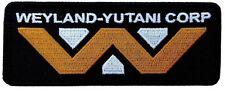 "ALIEN Movie Weyland-Yutani 1.5"" x 4"" Logo Embroidered Iron-on patch"