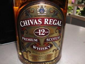 Chivas Regal 12 J Premium Scotch 0,7 Liter in Metalldose Sammlerstück Whisky 40%