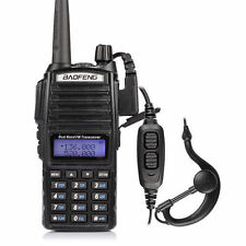 New Baofeng UV-82L VHF/UHF 136-174/400-520MHz Ham Two-way Radio Walkie Talkie