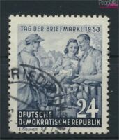 DDR 396Y I (kompl.Ausg.) seltenes Wasserzeichen gestempelt 1953 Tag de (9119915