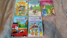 5x Walt Disney World of Books Bundle (13)
