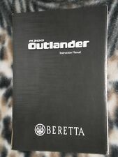 Beretta A300 Outlander Operators Manual - Genuine Oem - New