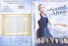 DVD :  THE SOUND OF MUSIC LIVE....CARRIE UNDERWOOD.....NEW (CELLO RIPPED)