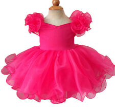 15 color Infant/toddler/kids/baby/Girl's Pageant/prom/formal Dress size1-7 EB053