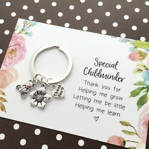 Special Childminder Gift Thank You gift, Leaving present