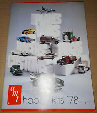 Vintage Rare Original 1978 AMT MODEL KIT Toy Dealer Catalog KISS Van Hot Rod