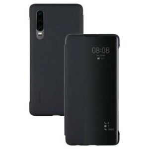 Genuine Huawei Smart View Flip Cover for P30 Black 51993078
