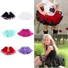 Girls Kids Ballet Dancewear Tutu Skirt Princess Toddler Fluffy Pettiskirt Skirts