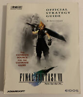Final Fantasy VII 7 Official Strategy Guide Brady Games PC PS1 PlayStation RARE