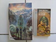 lot fantasy TERRY BROOKS les descendants de Shannara + le sceptre et le sort