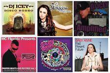 6 dance CDs lot BABY ANNE,DJ ICEY,DEEKLINE&KEITH MACKENZIE,MC FLIPSIDE House Mix