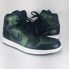 Nike SB QS x Air Jordan 1 Retro Craig Stecyk 653532-001 Sz 10 Chameleon Black