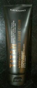 New Pure Romance TITAN Conditioning Shave Cream for Men Smells Great Fast Ship'n