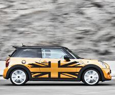 UK British Flag Mini Cooper Graphic Decal Sticker Distressed Truck Vehicle Vinyl