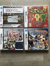 LOT 4 JEUX 100 LIVRES CLASSIQUES TRACK N FIELD GOGOS NINTENDO DS 3DS NEUF NEW