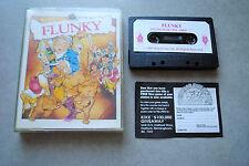 Jeu FLUNKY sur ZX Spectrum (Sinclair) format cassette K7