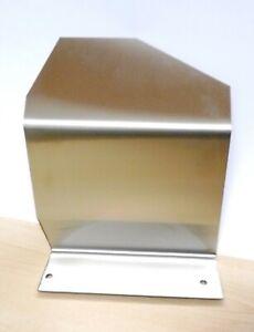 Toyota Supra MkIV - Air Intake Heat Shield - Brushed Stainless Steel