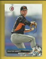 Braxton Garrett RC 2017 Bowman Prospects Rookie Card Miami Marlins Baseball MLB