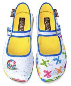 Hot Chocolate Design Chocolaticas JAX Mary Jane Flats Shoes Size 39 US 9 NIB