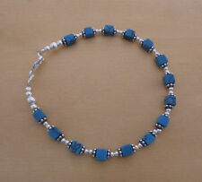 Turquoise Sterling Silver Beaded Fine Bracelets