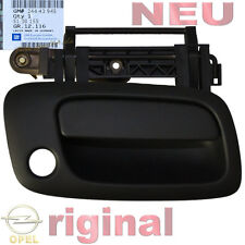 NEU Original GM Türgriff Opel Astra G aussen rechts Vordertür anthrazit nicht ZV