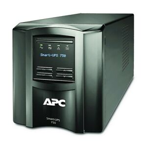APC by Schneider Electric SMT750C Smart-UPS 750VA LCD 120V with SmartConnect