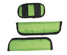 Gurtpolster-Set für Croozer Kinderanhänger Kid for 1 / 2 / plus grün bis 2015