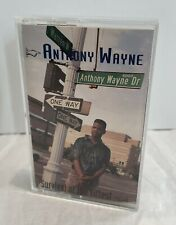 Anthony Wayne Survival Of The Fittest Cassette 1991 Rare Hip Hop Detroit EP Tape