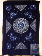 Handmade indigo Tie Dye Rural Style Tablecloth Table Cover Tapestry 200cmx140cm