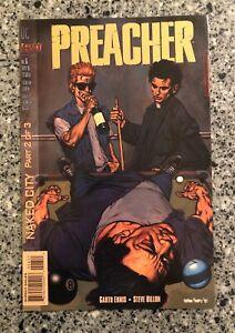 PREACHER #6 NM- (DC/Vertigo 1995) Garth Ennis, Steve Dillon, AMC TV Show