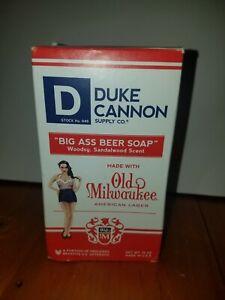 MEN'S DUKE CANNON SOAP  NEW IN BOX