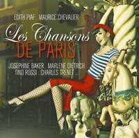 CD Les Chansons De Paris von Various Artists 2CDs