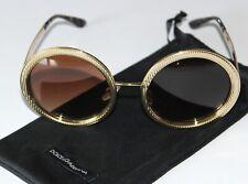 DOLCE & GABBANA Sonnenbrille DG2179 gold / braun Verlauf TOP neuwertig