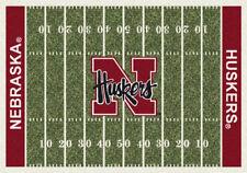 "5x8 Milliken Nebraska Cornhuskers NCAA Home Field Area Rug - Approx 5'4""x7'8"""
