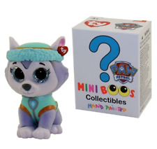"""TY Beanie Boos Mini Boo Hand Painted Paw Patrol Figure 2"""" EVEREST Mystery Chaser"""